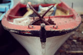 Close-up fishing boat — Stock Photo