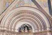 Katedra w Orvieto — Zdjęcie stockowe