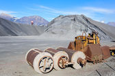 Industrial Tools various and  hill of ferrous material for metal — Photo