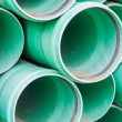Plastic pipes for building — Stock Photo #72647519