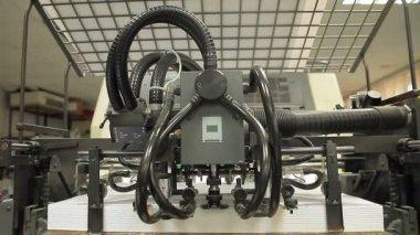Macchine per stampa — Video Stock