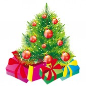 Christmas day — Stock Vector