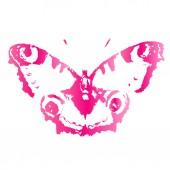 Kelebek tasarım — Stok Vektör