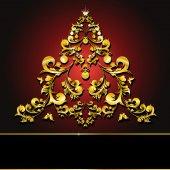 Noël design — Vecteur