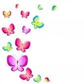 Desenho de borboletas — Vetorial Stock