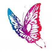 Motýli design — Stock vektor