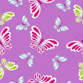 Motif papillons — Vecteur