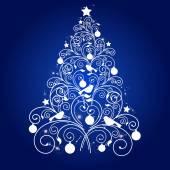 Conception de cartes de Noël — Vecteur