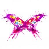 Fjärilar design — Stockfoto