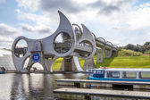 Falkirk Wheel, Scotland 9 — Стоковое фото