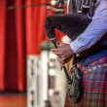 Scottish musicien bagpiper2 — Stock Photo #52827913