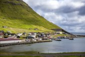 Klaksvik Faroe Island, North Atlantic — Stock Photo