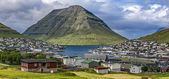 Klaksvik, Faroe Island,panoramic view — Stock Photo