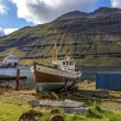 Old fishing boat in Iceland2 — Stock Photo #55006913