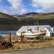 Old fishing boat in Iceland3 — Stock Photo #55006937