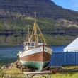 Old fishing boat in Iceland — Stock Photo #55006947
