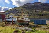 Old fishing boat in Iceland2 — Stock Photo