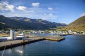 Seydisfjordur Iceland view from the sea2 — Stock Photo