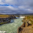 Waterfall landscape in Iceland4 — Stock Photo #55532655