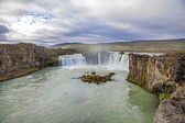 Waterfall landscape in Iceland3 — Stock Photo