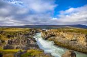 Waterfall landscape in Iceland2 — Stock Photo