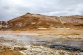 Geothermal landscape in Iceland5 — Stock Photo