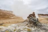 Icelandic Fumarole — Stock Photo