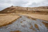 Icelandic geothermal desert — Stock Photo