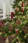 Albero di Natale e ornements019 — Foto Stock