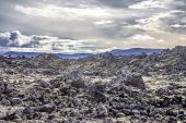 Volcanic landscape in Iceland 1 — Stock Photo