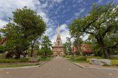 Wat Chaiyathararam Phuket, Thailand — Stock Photo