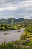 Pai river in Mae Khong Son province, Thailand. — Stock Photo