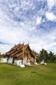 Schöne Tempel in Stadt von Pai, Nord-thailand — Stockfoto