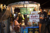 Walking Street in Pai — ストック写真