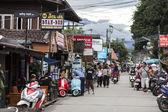 Walkingstreet in Pai — Stockfoto