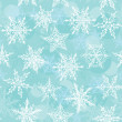 Seamless winter background with snowflakes. Vector — Stockvektor  #57228681