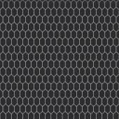 Snake skin texture. Seamless pattern black on white background. Vector — Stock Vector