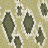 Snake skin texture. Seamless pattern python. Vector — Stock Vector