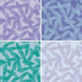 Abstract grunge painted texture set seamless pattern. vector — Stock Vector