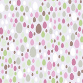 Seamless Easter Eggs Background, green, lilac Vector — Stock Vector