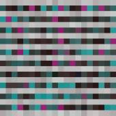 Seamless pattern with colorful squares and stripes. Vector — Stock Vector