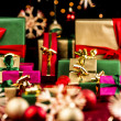 Plenty of Xmas Gifts in Red, Gold and Green — Stock Photo #52230925