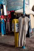 Shopping street in Monastir, Tunisia — Stock Photo