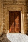 Door to the Great Mosque in Monastir, Tunisia — Stock Photo