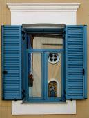 Window reflection — Stockfoto