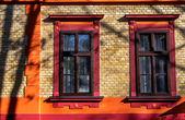 Autumn windows — Stock Photo