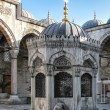 Courtyard of New Mosque in Istanbul — Stock Photo #64308909