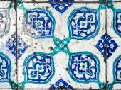 Ceramics tiles, decoration in mosque, Istanbul — Foto Stock