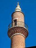 Minaret of a Mosque, Istanbul — Stock fotografie