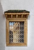 Finestra aperta tradizionale in Tunisia — Foto Stock